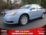 2014 Crystal Blue Pearl Chrysler 200 Touring Sedan #89433682