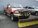 2000 Bright Amber Metallic Ford F250 Super Duty XLT Extended Cab 4x4 #8931920