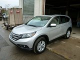 2014 Alabaster Silver Metallic Honda CR-V EX AWD #89433672