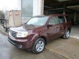 2014 Dark Cherry Pearl Honda Pilot EX 4WD #89433671