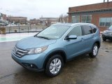 2014 Mountain Air Metallic Honda CR-V EX-L AWD #89433669
