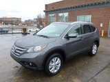 2014 Polished Metal Metallic Honda CR-V EX-L AWD #89433668