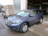 2014 Twilight Blue Metallic Honda CR-V EX AWD #89433667