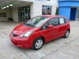 2013 Milano Red Honda Fit  #89433664