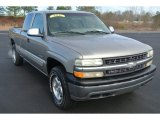 1999 Light Pewter Metallic Chevrolet Silverado 1500 LS Extended Cab 4x4 #89433898