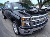2014 Black Chevrolet Silverado 1500 LT Crew Cab #89459223