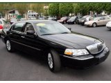 2008 Black Lincoln Town Car Signature Limited #8913644