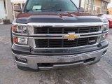 2014 Tungsten Metallic Chevrolet Silverado 1500 LTZ Z71 Double Cab 4x4 #89458934
