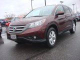 2012 Basque Red Pearl II Honda CR-V EX-L 4WD #89458980