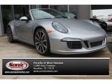 2014 Porsche 911 GT Silver Metallic