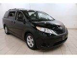 2011 Black Toyota Sienna LE #89484025