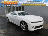 2014 Summit White Chevrolet Camaro LT/RS Coupe #89483733