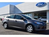 2014 Sterling Gray Ford Focus S Sedan #89483837