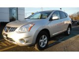 2013 Brilliant Silver Nissan Rogue S Special Edition AWD #89483944