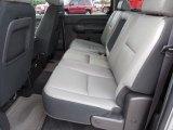 2010 Chevrolet Silverado 1500 LT Crew Cab Rear Seat
