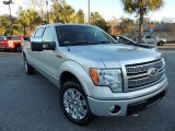 2010 Ingot Silver Metallic Ford F150 Platinum SuperCrew 4x4 #89483923