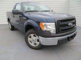 2014 Blue Jeans Ford F150 XL Regular Cab #89483866