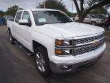 2014 Summit White Chevrolet Silverado 1500 LT Crew Cab #89518918