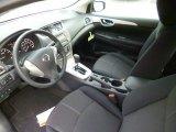 2014 Nissan Sentra S Charcoal Interior
