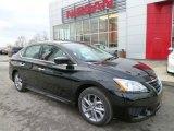 2014 Super Black Nissan Sentra SR #89518732