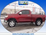 2007 Salsa Red Pearl Toyota Tundra Regular Cab #89518827