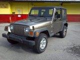 2002 Jeep Wrangler Light Khaki Metallic