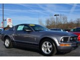 2007 Tungsten Grey Metallic Ford Mustang V6 Premium Coupe #89518401