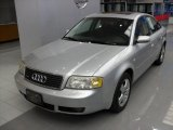 Light Silver Metallic Audi A6 in 2003