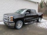 2014 Black Chevrolet Silverado 1500 LT Crew Cab 4x4 #89518332