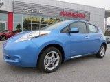 2013 Blue Ocean Nissan LEAF SV #89518613