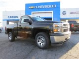 2014 Black Chevrolet Silverado 1500 WT Regular Cab #89518597