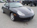 1999 Black Porsche 911 Carrera 4 Cabriolet #8928481