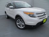 2014 White Platinum Ford Explorer Limited #89518561
