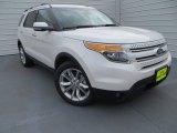 2014 White Platinum Ford Explorer Limited #89518561