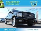 2013 Black Chevrolet Silverado 1500 LTZ Crew Cab 4x4 #89518843
