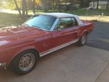 1968 Ford Mustang Shelby GT500 KR Convertible Data, Info and Specs