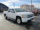 2012 Summit White Chevrolet Silverado 1500 LTZ Crew Cab 4x4 #89566989