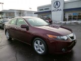 2010 Basque Red Pearl Acura TSX Sedan #89567141
