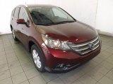 2014 Basque Red Pearl II Honda CR-V EX-L #89566561