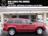 2006 Red Rock Crystal Pearl Jeep Grand Cherokee Laredo 4x4 #89566706