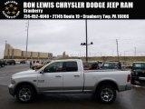 2014 Bright White Ram 1500 Laramie Quad Cab 4x4 #89566696