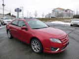 2011 Red Candy Metallic Ford Fusion SE V6 #89566774