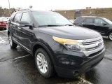 2014 Tuxedo Black Ford Explorer XLT 4WD #89566766