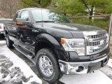 2014 Tuxedo Black Ford F150 XLT SuperCab 4x4 #89566758