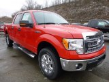 2014 Race Red Ford F150 XLT SuperCrew 4x4 #89566757