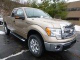 2014 Pale Adobe Ford F150 XLT SuperCab 4x4 #89566756