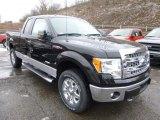 2014 Tuxedo Black Ford F150 XLT SuperCab 4x4 #89566755