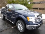 2014 Blue Jeans Ford F150 XLT SuperCab 4x4 #89566750