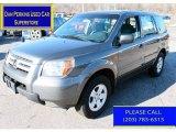 2007 Nimbus Gray Metallic Honda Pilot LX 4WD #89566515