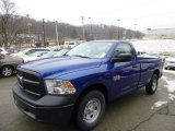 2014 True Blue Pearl Coat Ram 1500 Tradesman Regular Cab #89566928